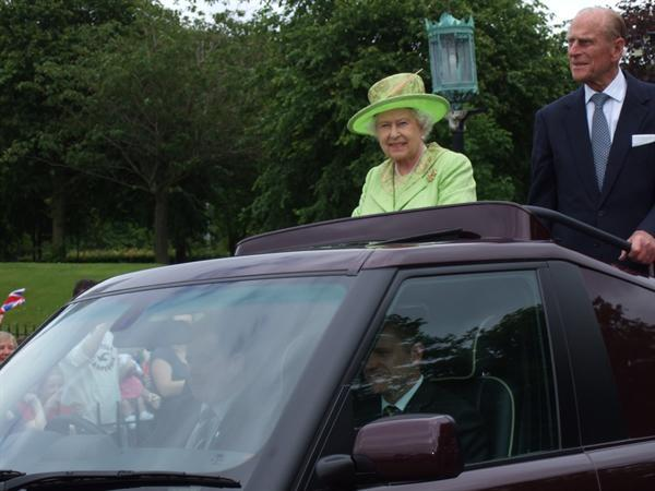 HRH The Queen visiting Stormont