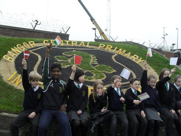 Pupils celebrate launch of Integrated Schools Week