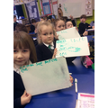 We spelt some words from our reading books.