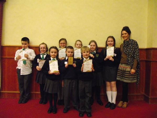 Children attend celebratory lunch for Action MS