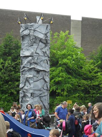Climbing wall for Key Stage 2