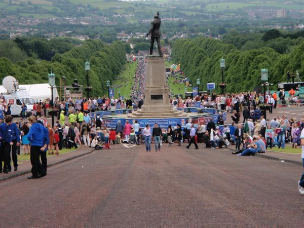 View from the Mall at Stormont