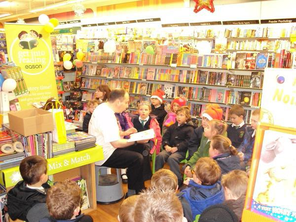 Year 1 visit to Easons