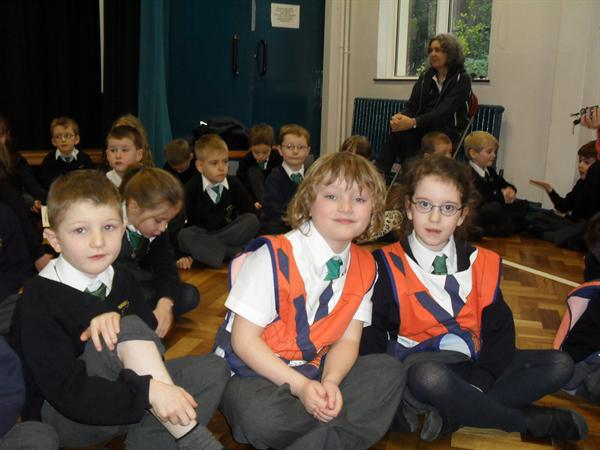 Year 2 assembly on People who help us