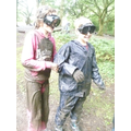 Enjoying the mud pack!