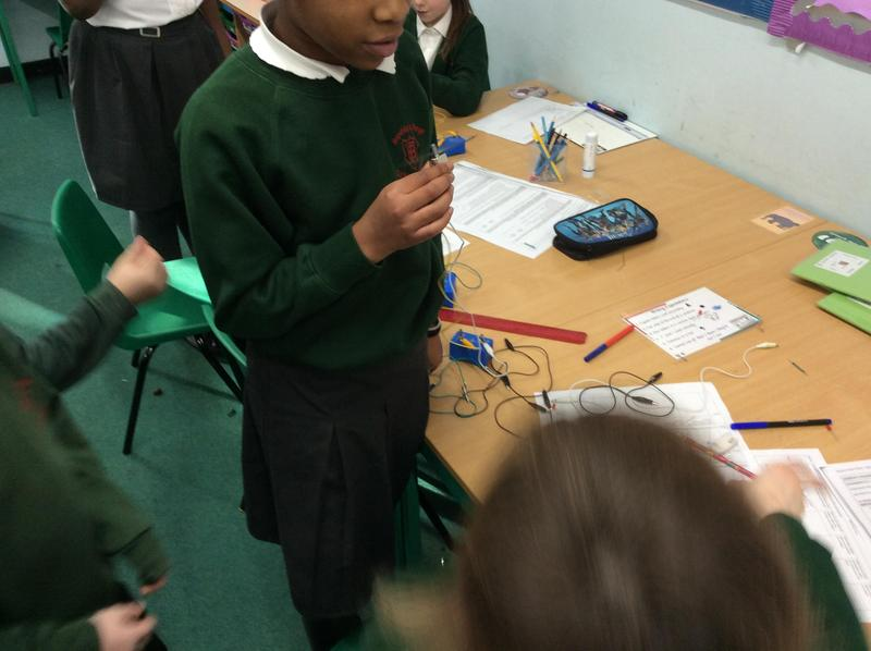 Trying to create our own electrical circuits