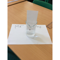Investigating who the thief was by using chromatography