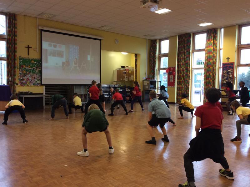 Brilliant effort in fitness today!