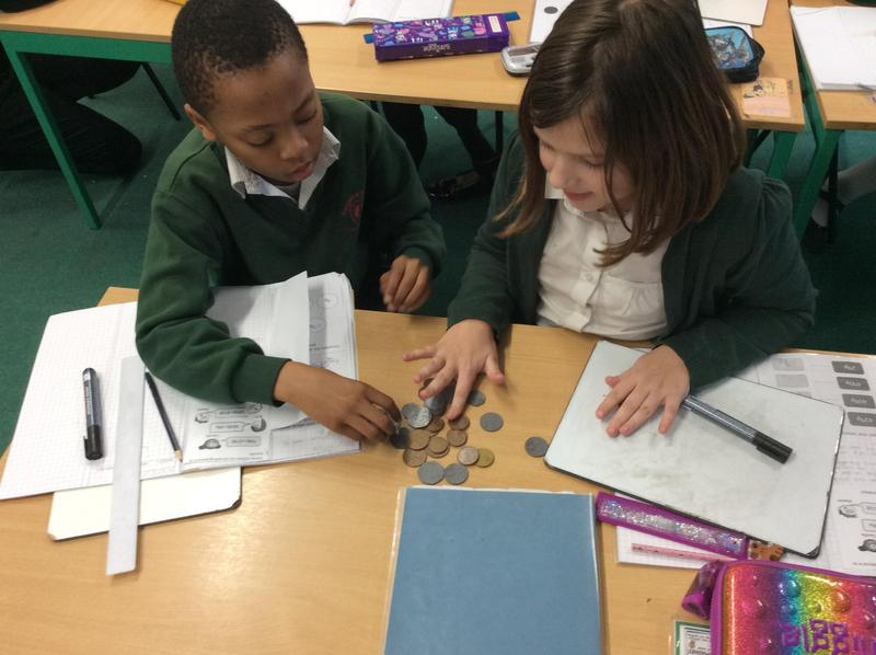 Getting to grips with values of coins