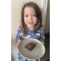 Here's my Brownie-Carly