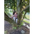 Climbing trees-Emaan