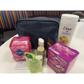One of the sanitary packs