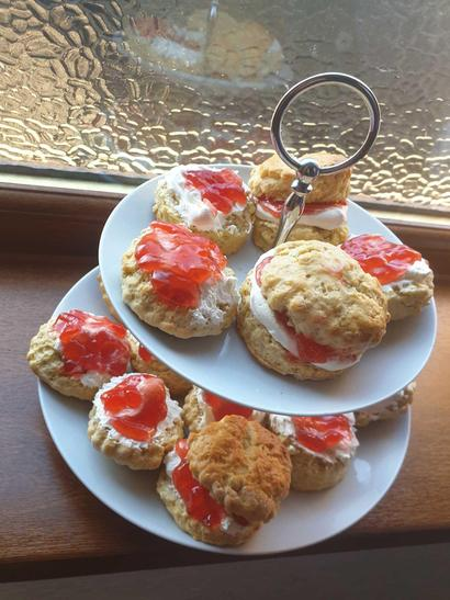 Scones fit for the Queen