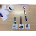 Counting and making numbers with cubes