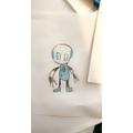 Practising art skills-Yusuf