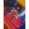 Bouncy castle fun-Esa