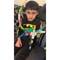 Yusuf made a fantastic Dragon