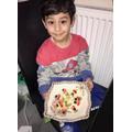 Proud of my fruit kebabs-Ali Haider