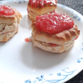 Strawberry scones by Hafsah