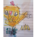 LIVE session-How to draw a chicken with Emaan