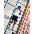 Having fun during PE