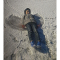 Playing in the snow-Maher