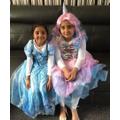 Sisters celebrating WBD-Aliza