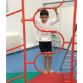 Mastering the climbing frame