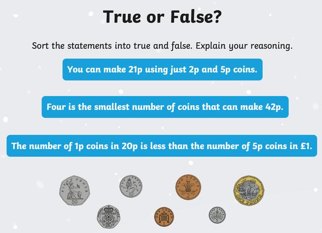 Task 3 - True or false? Explain your answer.