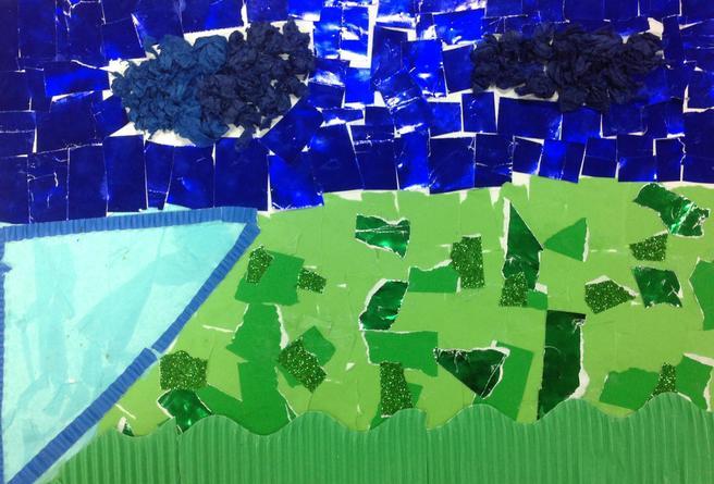 Jerusalem Landscape inspired by Ludwig Blum