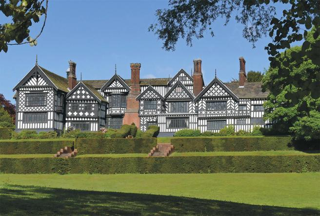 Bramall Hall in Stockport.