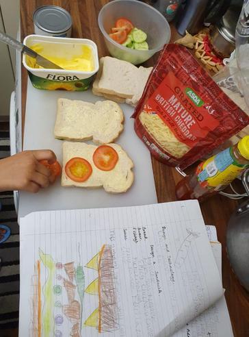Yahya's fantastic sandwich design