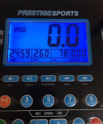 Miss Williams 2.6km Run