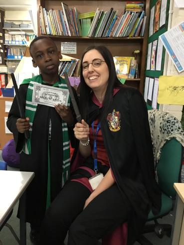 Draco Malfoy and Harry Potter
