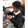 AbuBakr loves Lego.