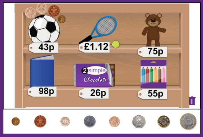 Challenge - Making amounts using coins