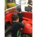 Adding petrol