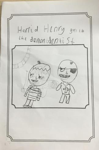 Our own Horrid Henry story books