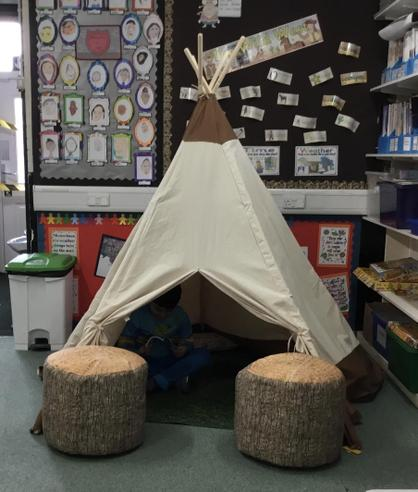 Our Year 3 reading area