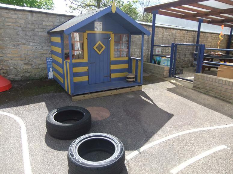 Class 1s'  playground