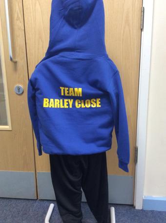 School hoodies for colder PE days