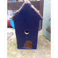 Tilly's blue bird box