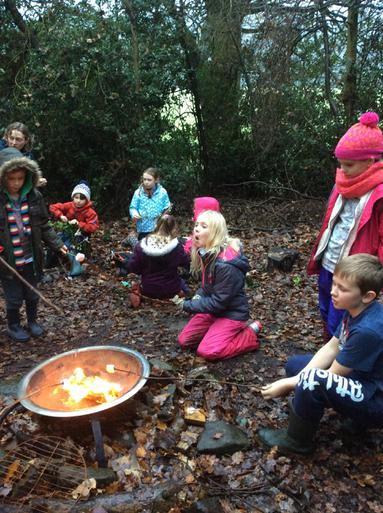 Now for the marshmallows,yum!