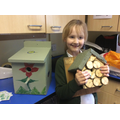 Two birdboxes from Sophia!