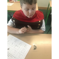 Discovering artefacts.