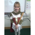 Our Roman costumes.