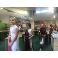 Roman fashion show.