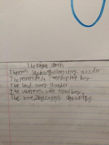 Harvey's storm poem