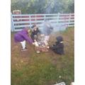 Family campfire!