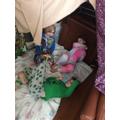 We made a den together!
